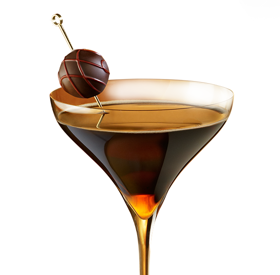 The GODIVA® Grand Martini Recipe